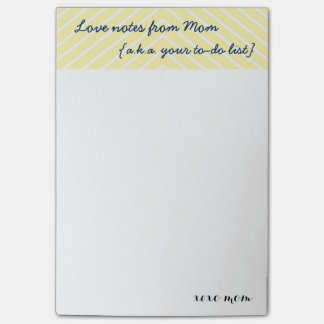 Mom's Love Notes   Your To Do List Reminders