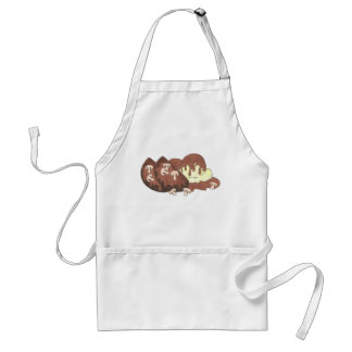Mom's Meatloaf Home Cooking Mashed Potatoes Gravy Standard Apron