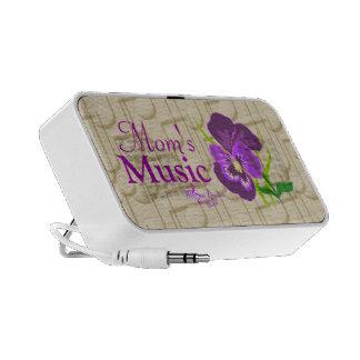 Mom's Music Purple Flower and Music Mini Speaker