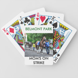 Moms on Strike Bicycle Playing Cards
