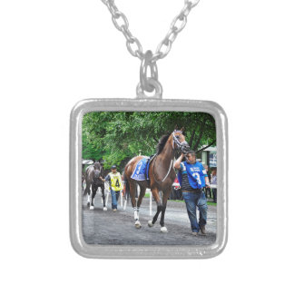 Moms on Strike Silver Plated Necklace