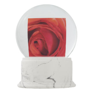 Mom's Red Rose Snow Globes