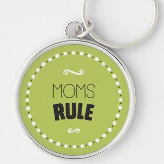Moms Rule Keychain – Editable Background