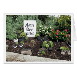 Mom's Shoe Garden Card