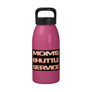 Mom's Shuttle Service Drinking Bottle