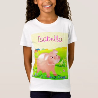 Mom's Summer Camp Piggy T-Shirt