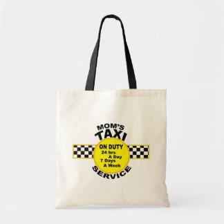 Mom's Taxi Service Tote Bag