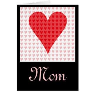 Mom's Valentine Greeting Card