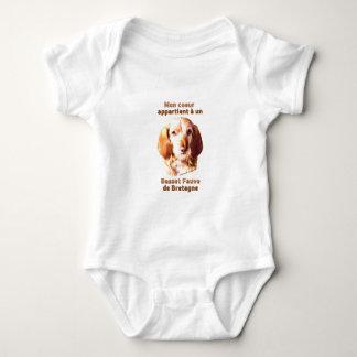 Mon Coeur Appartient A Un Basset Fauve de Bretagne Baby Bodysuit
