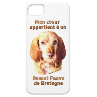 Mon Coeur Appartient A Un Basset Fauve de Bretagne Barely There iPhone 5 Case