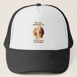 Mon Coeur Appartient A Un Griffon Fauve deBretagne Trucker Hat