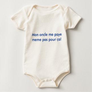 Mon oncle me paye meme pas pour ca!, Extreme Pita Baby Bodysuit