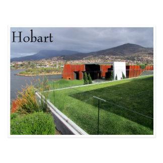mona hobart grey postcard