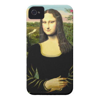 Mona Lisa - Add a pet Case-Mate iPhone 4 Case