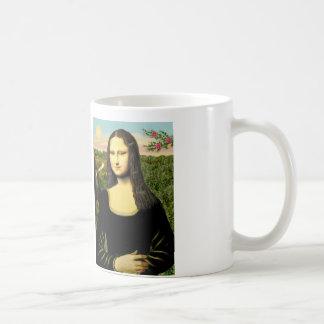 Mona Lisa - Add a pet Coffee Mug