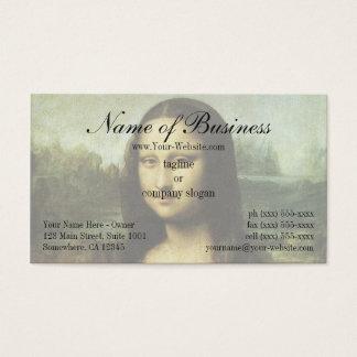 Mona Lisa (aka La Gioconda) by Leonardo da Vinci Business Card
