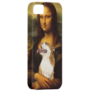 Mona Lisa and Her Bull Dog iphone Case