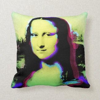 Mona Lisa Art Pillow 1