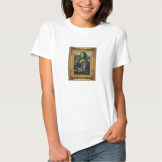 Mona Lisa as the wicked witch Shirts
