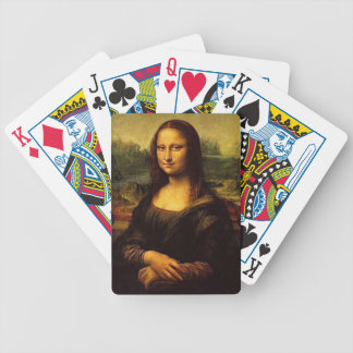 Mona Lisa Bicycle Playing Cards
