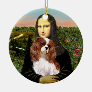 Mona Lisa - Blenheim Cavalier Ceramic Ornament