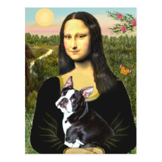 Mona Lisa - Boston T #4 Postcard