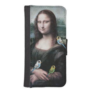 Mona Lisa & Budgies iPhone SE/5/5s Wallet Case