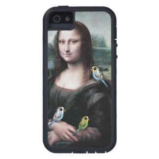Mona Lisa & Budgies Tough Xtreme iPhone 5 Case
