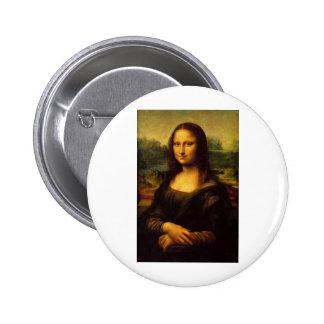 Mona Lisa Button