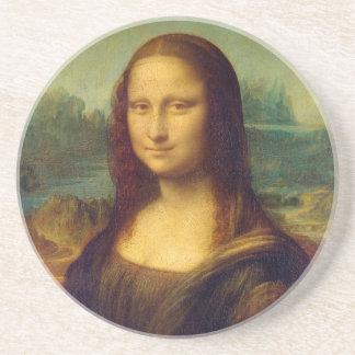 Mona Lisa by Leonardo da Vinci Coasters