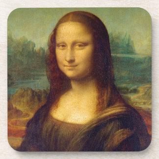 Mona Lisa by Leonardo da Vinci Drink Coasters