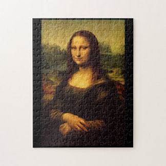 Mona Lisa by Leonardo da Vinci Jigsaw Puzzle