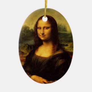 Mona Lisa by Leonardo Da Vinci Ornament