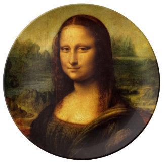 Mona Lisa by Leonardo da Vinci Plate
