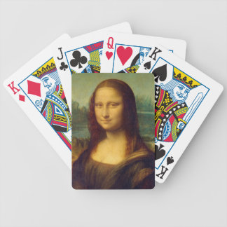 Mona Lisa by Leonardo da Vinci Poker Deck