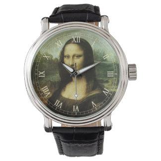 Mona Lisa by Leonardo da Vinci, Renaissance Art Wristwatches