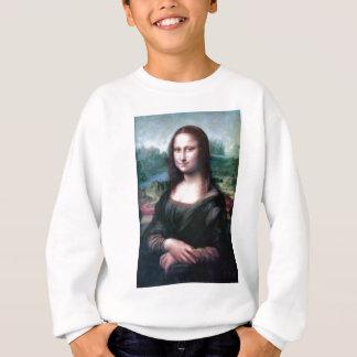 Mona Lisa by Leonardo da Vinci Sweatshirt