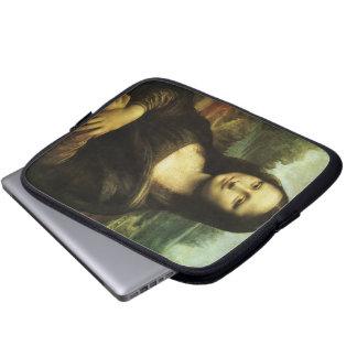 Mona Lisa by Leonardo da Vinci Vintage Renaissance Laptop Computer Sleeves