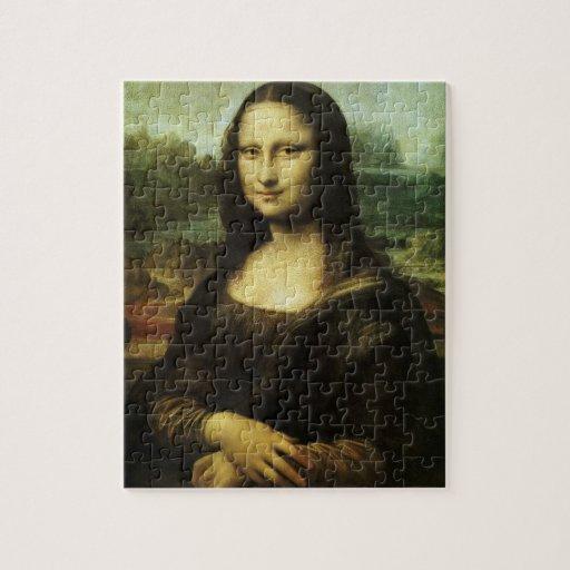 Mona Lisa by Leonardo da Vinci Vintage Renaissance Puzzles