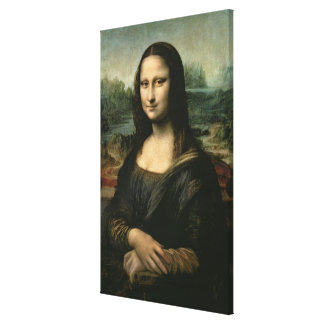 Mona Lisa, c.1503-6 Canvas Print