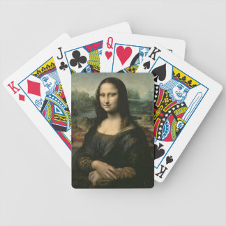 Mona Lisa, c.1503-6 (oil on panel) Bicycle Playing Cards