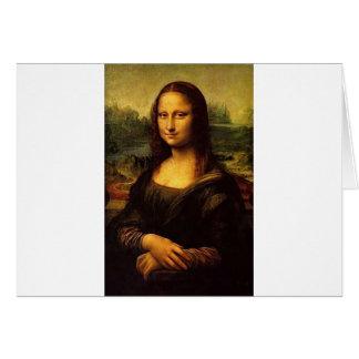 Mona Lisa Card