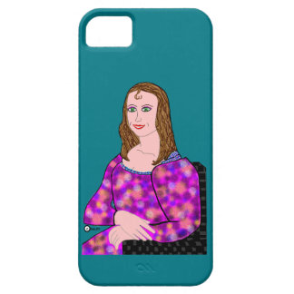 Mona Lisa Cartoon Image Barely There iPhone 5 Case