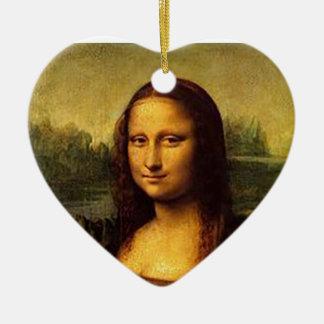 Mona Lisa Ceramic Ornament