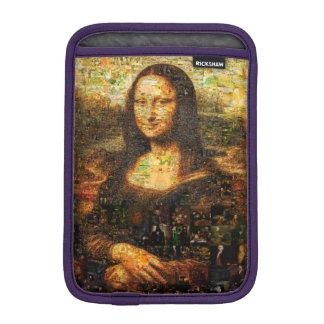 mona lisa collage - mona lisa mosaic - mona lisa iPad mini sleeve