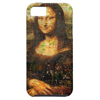 mona lisa collage - mona lisa mosaic - mona lisa iPhone 5 cases
