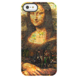 mona lisa collage - mona lisa mosaic - mona lisa permafrost® iPhone SE/5/5s case