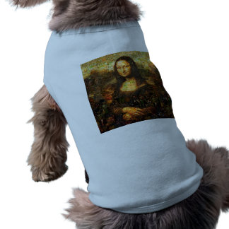 mona lisa collage - mona lisa mosaic - mona lisa shirt