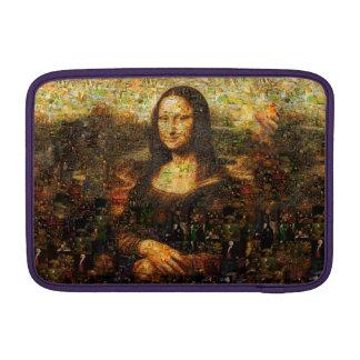 mona lisa collage - mona lisa mosaic - mona lisa sleeve for MacBook air