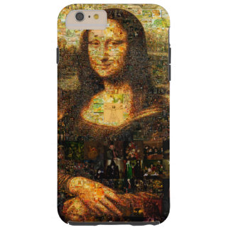 mona lisa collage - mona lisa mosaic - mona lisa tough iPhone 6 plus case